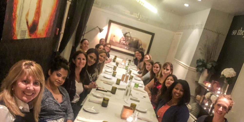 Parley Pro's dinner with senior in-house industry leaders