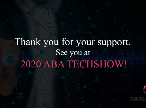 We will exhibit our product at the ABA Techshow