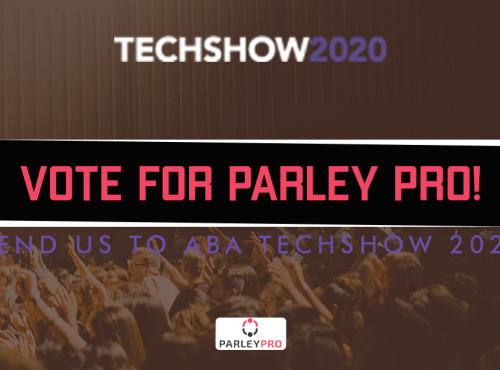 Parley Pro is a semifinalist legal technology startup