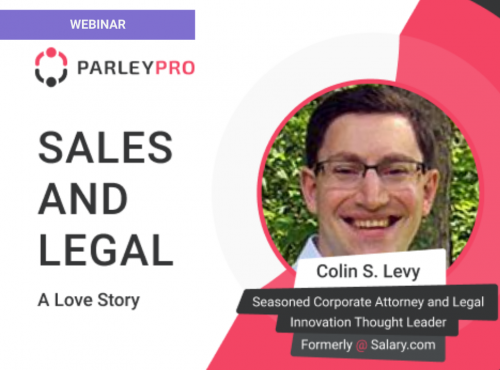 Sales and Legal: A Love Story