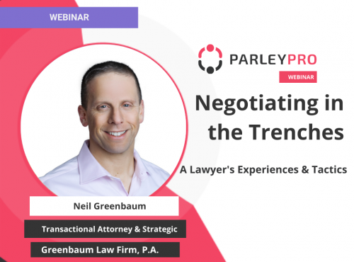 Negotiating in the Trenches: A Lawyer's Experiences & Tactics