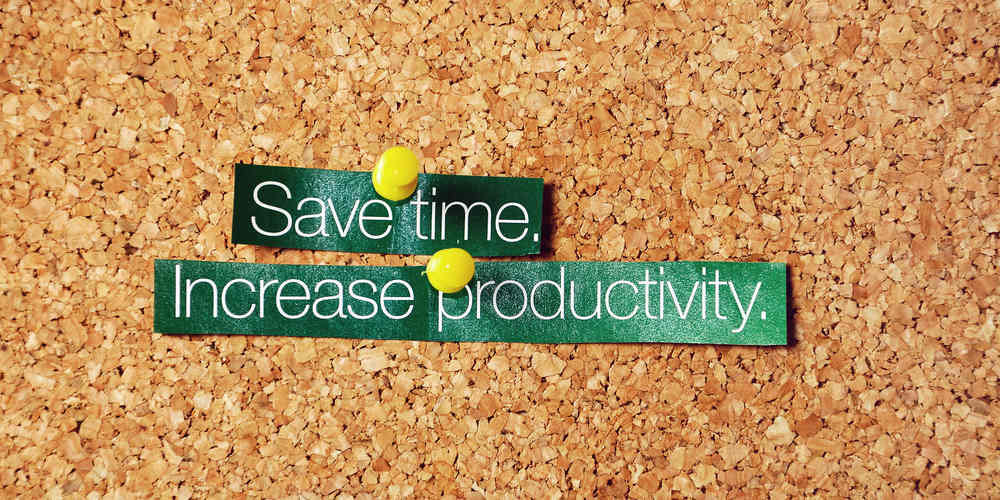 save time ,increase productivity