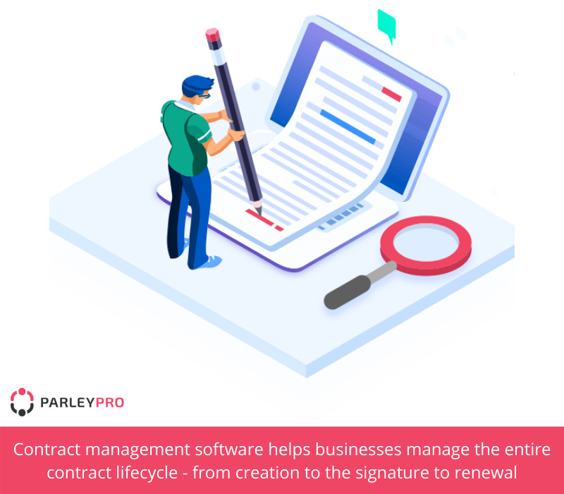 details about cloud-based contract management software