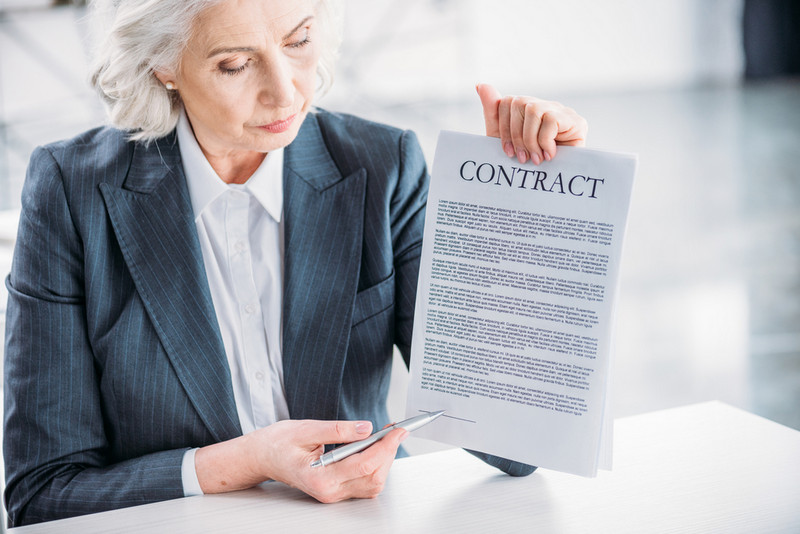 different types of contract in business
