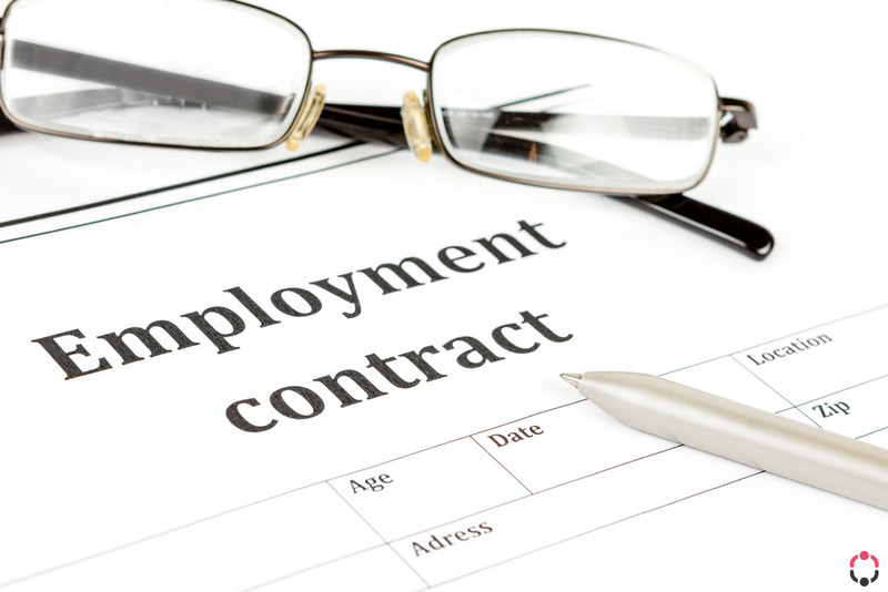 healthcare employment contract template