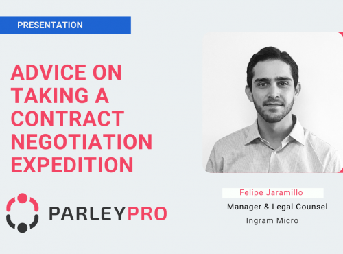 Felipe Jaramillo on Advice on Taking a Contract Negotiation Expedition
