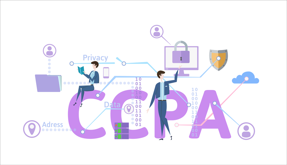 California Consumer Privacy Act. USA data security, consumer personal data protection