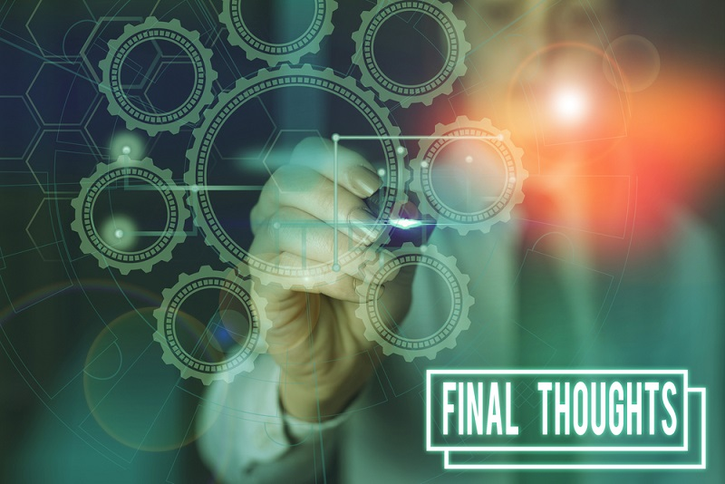 Final thoughts on contract management process effectiveness