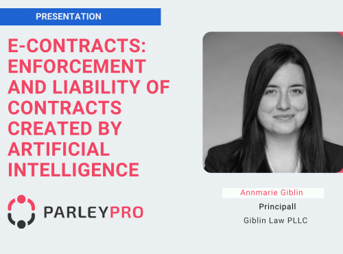 Enforcement and Liability of Contracts created by Artificial Intelligence
