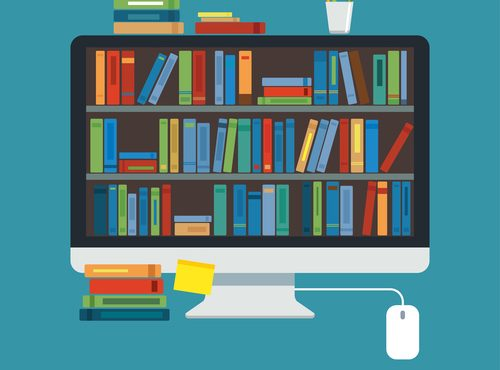 online library education on modern computer