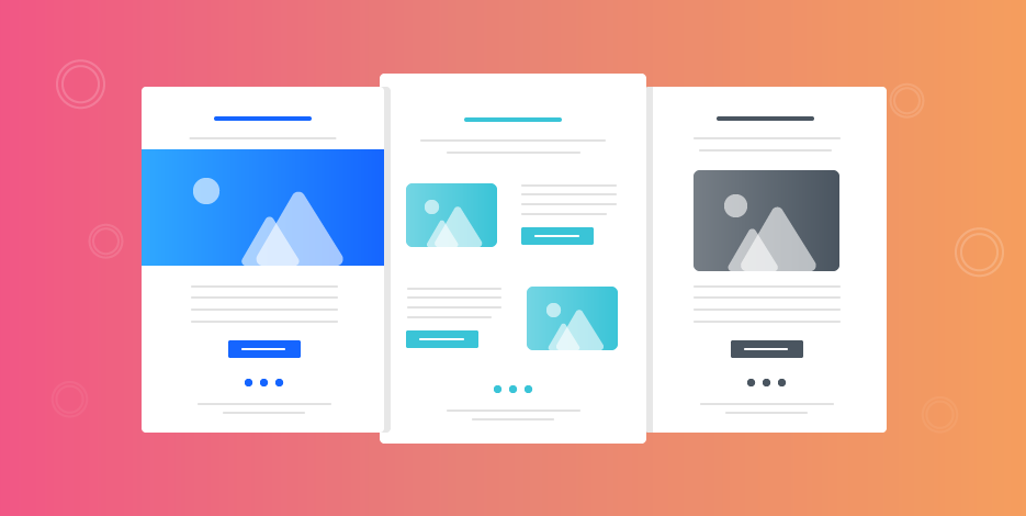 standardized and optimized template of a contract