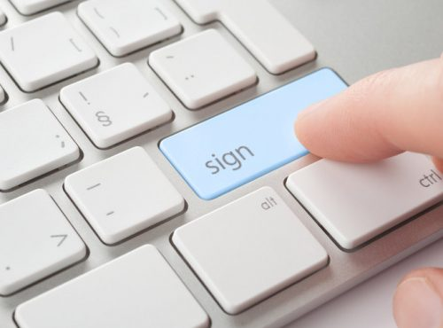 swithcing to online contract signing