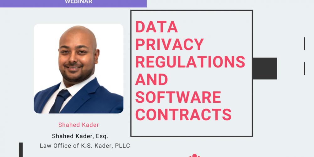 Data Privacy Regulations and Software Contracts