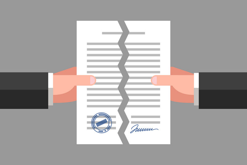termination triggers in commercial contract